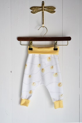 LIGHT CHAIN BABYPANTS OFFWHITE