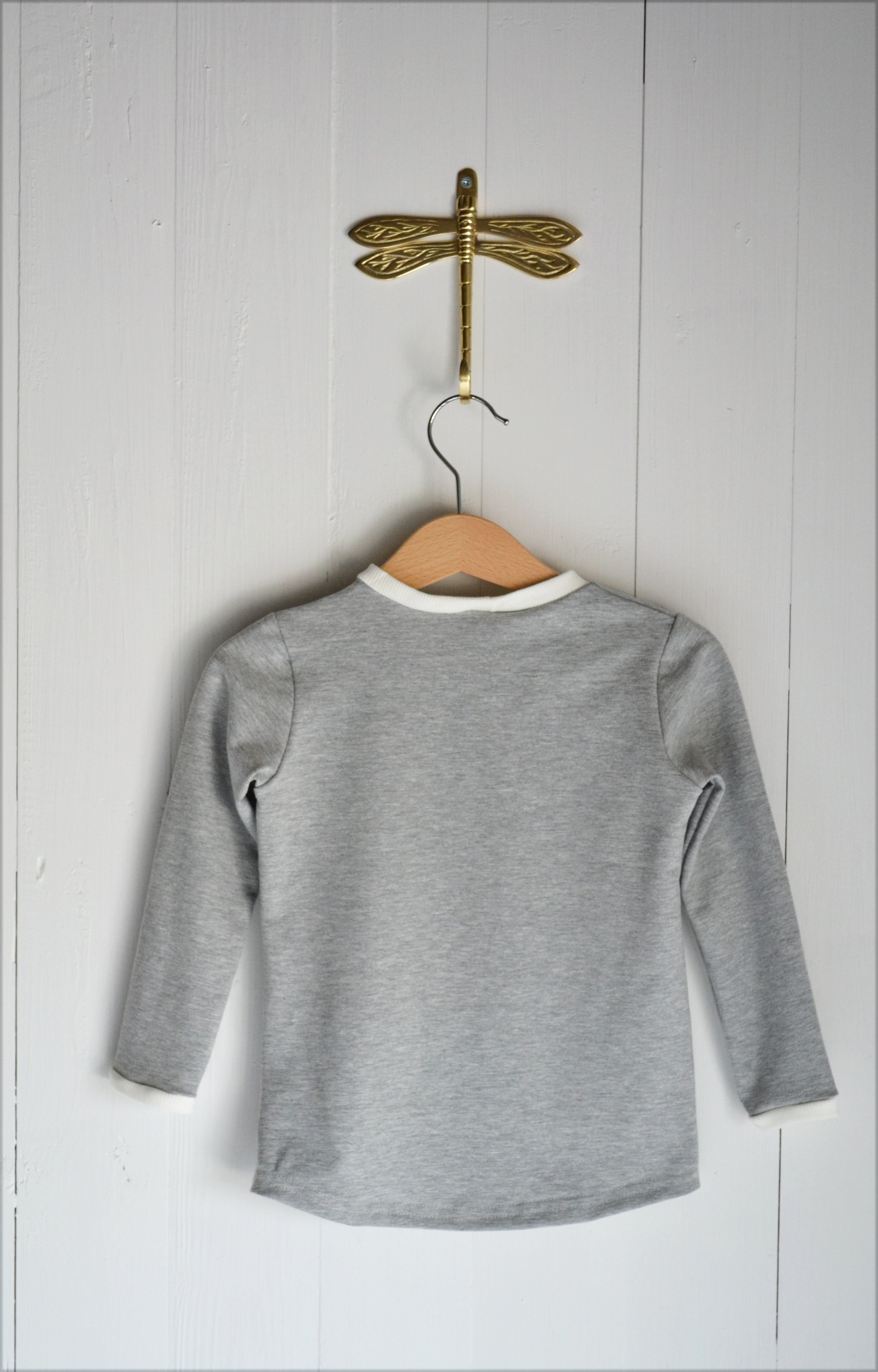 BASIC LONG SLEEVE T-SHIRT LIGHTGREY