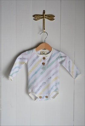 WATERCOLOR STRIPE BODY MULTI