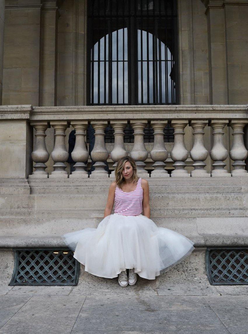 REVERSIBLE TULLE SKIRT