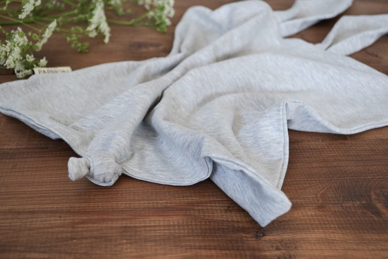 LONG EAR BABYBLANKET LIGHT GREY