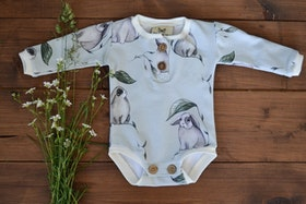 RABBIS BABYBODY LIGHT GREY