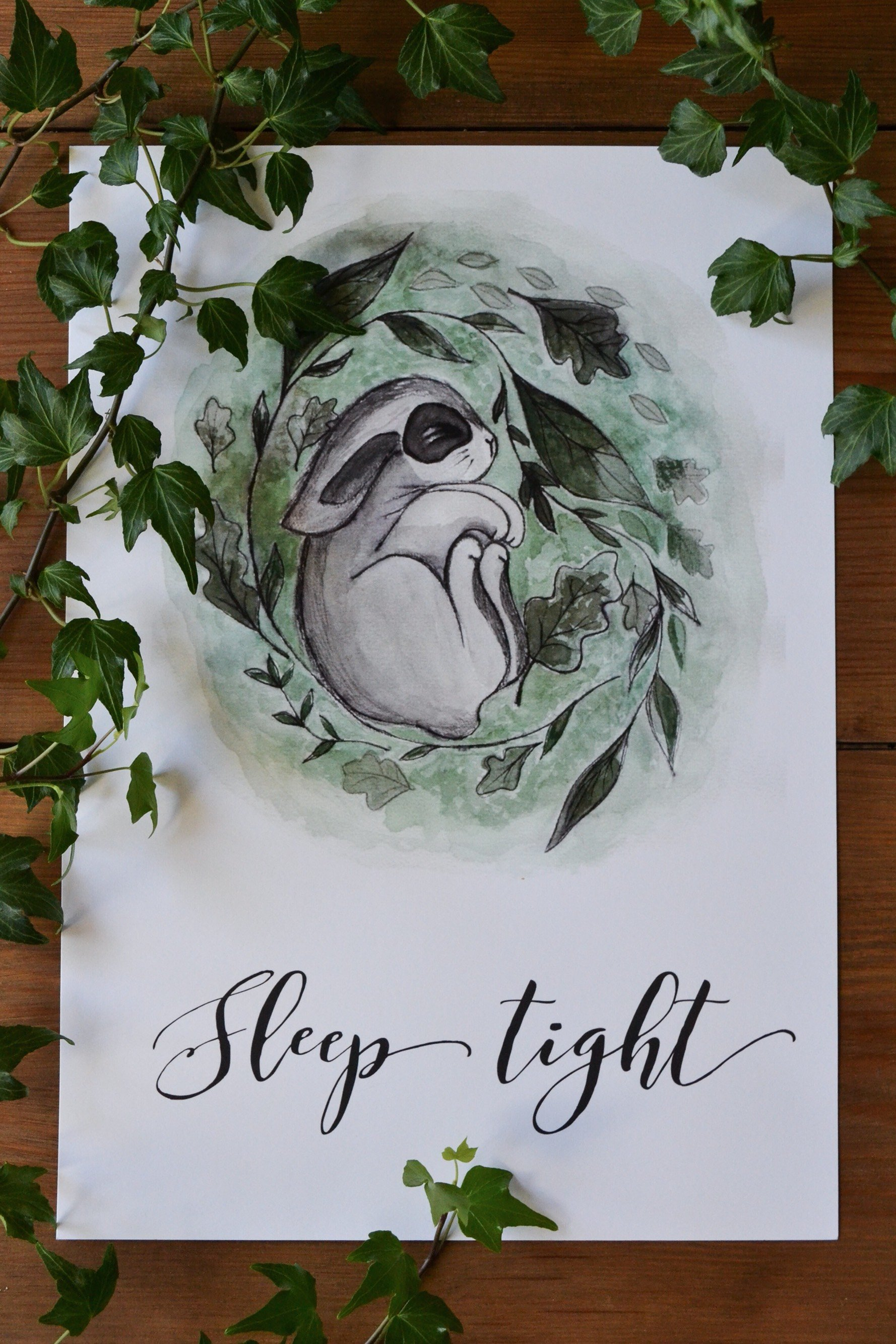 Poster SLEEP TIGHT A3
