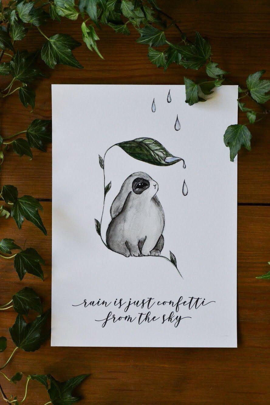 Poster RAIN A4