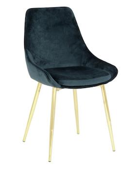 Theo stol Grön/Guld