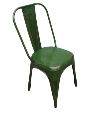 Stol Grön med patina