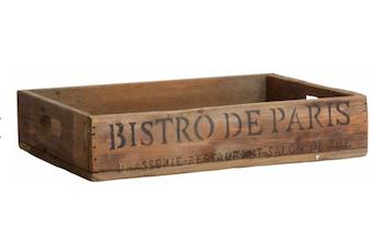Träbricka Bistro de Paris