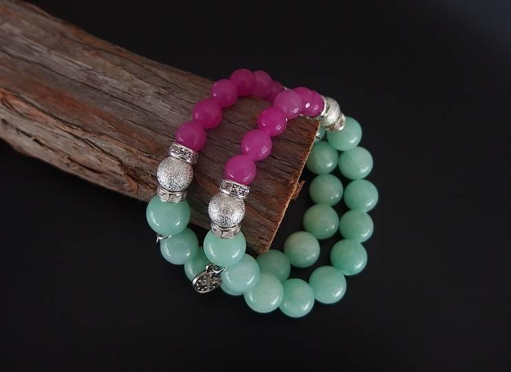 Armband med Jadestenar