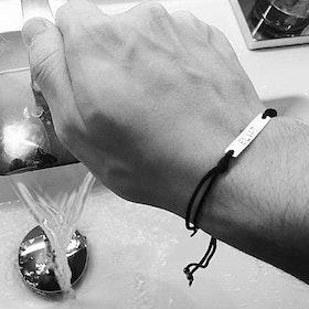 Armband med text herr