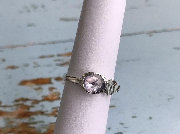 Tanzanit ring silver