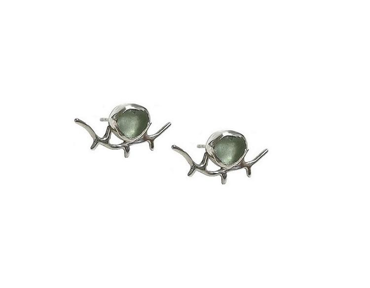 Silverörhängen grenar