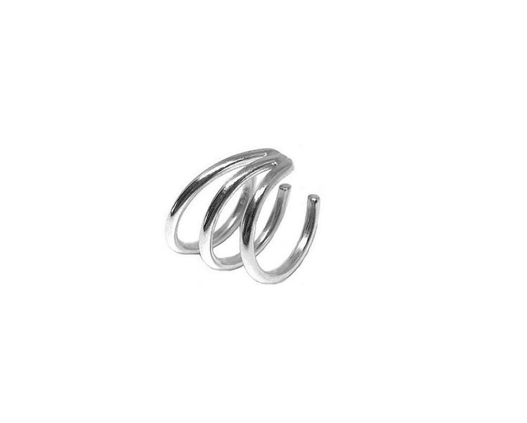 örhänge ear cuff äkta silver