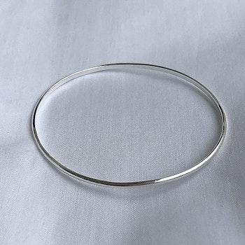 Smal armring silver