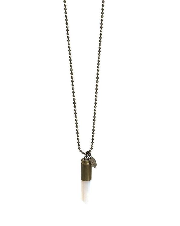 Halsband Crystal bullet opalit