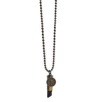 Halsband Crystal bullet Mystic quartz