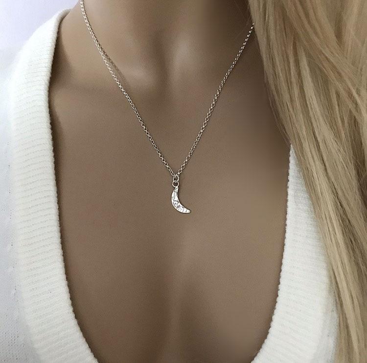 Halsband Luna silver