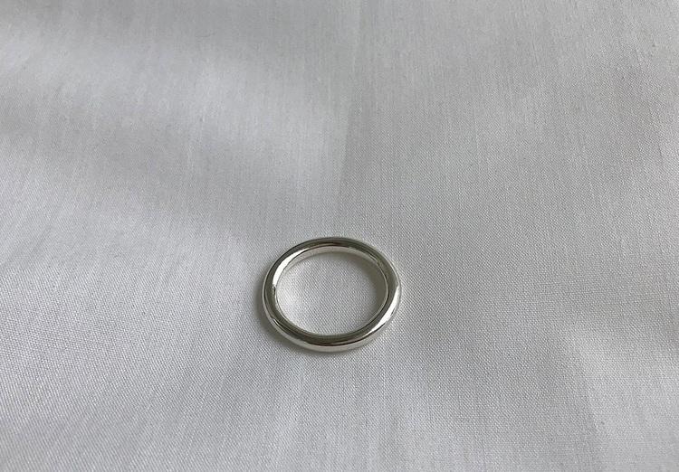Silverring tjock