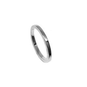 Ring i silver rak modell