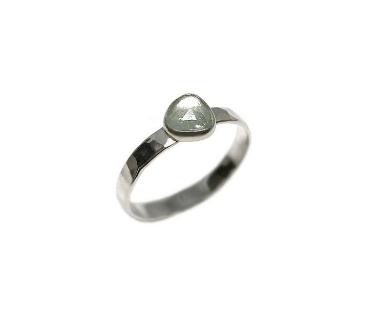 Turkosa turmalin ring silver