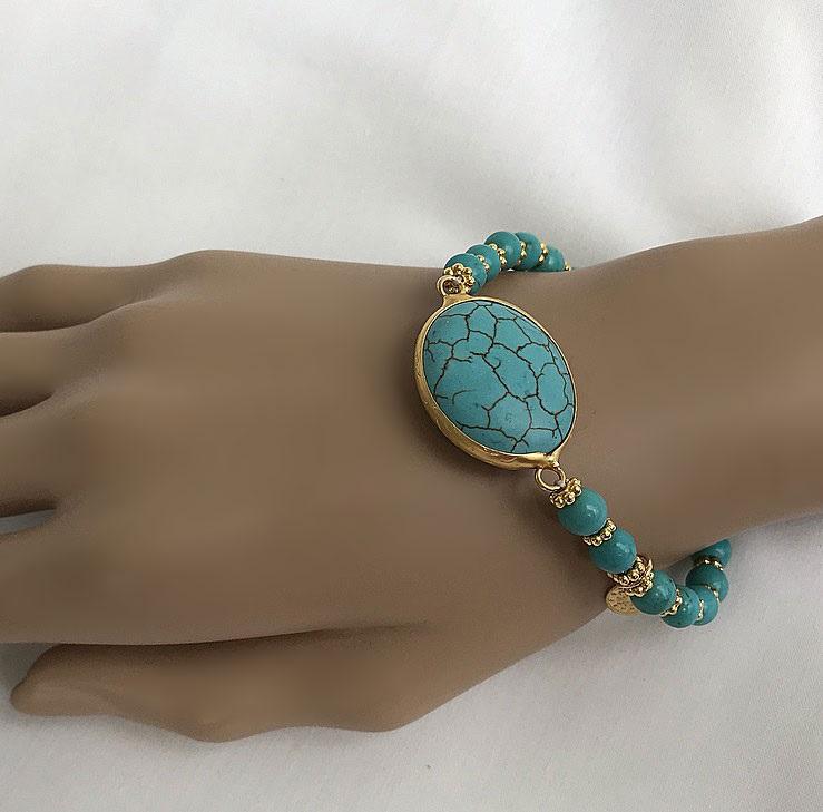 Armband turkoser
