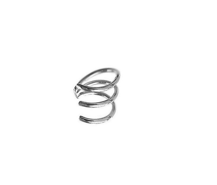 Örhänge cuff silver