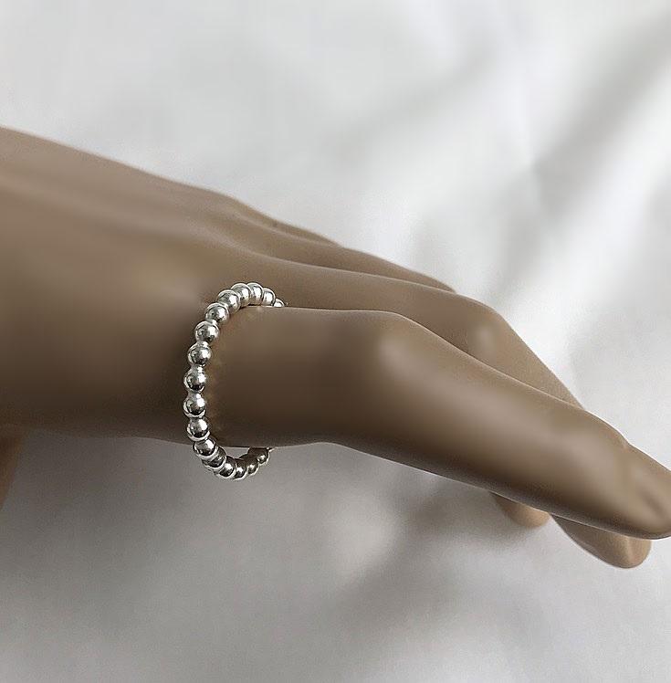 3mm tjock silverring