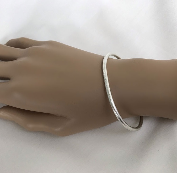 3mm tjockt silverarmband
