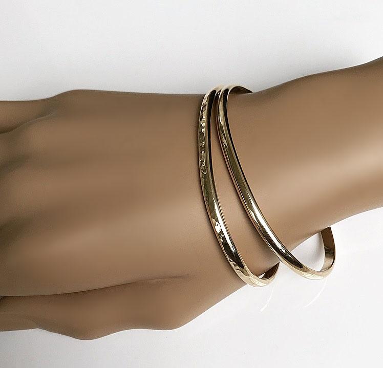 Mässing armband cuff