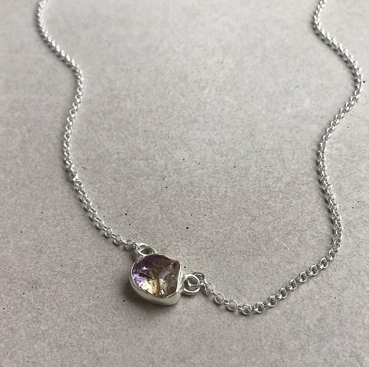 Ametrin halsband