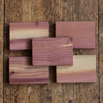 Block av cederträ, 5-pack