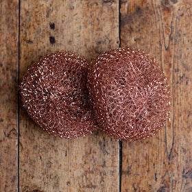 Skurboll av koppar, 2-pack