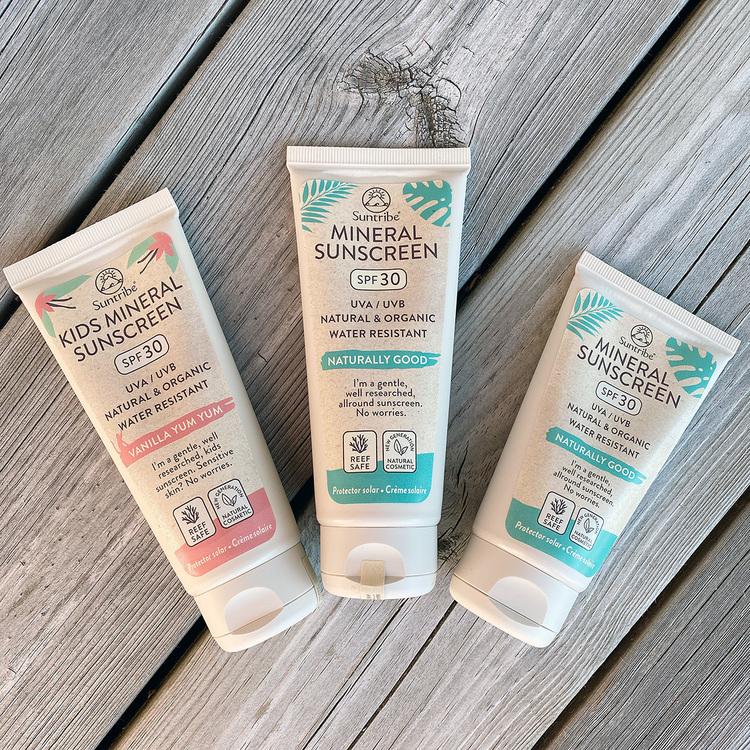 Suntribe Eco Body & Face Sunscreen, 60/100 ml