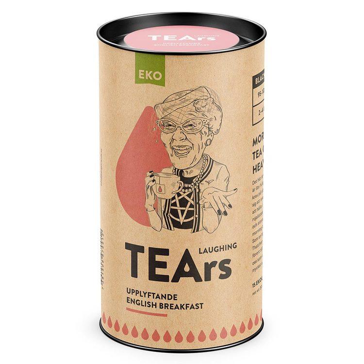 Laughing Tears – upplyftande English Breakfast (svart te)