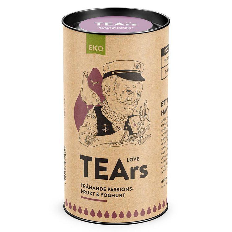 Love Tears – trånande passionsfrukt & yoghurt (rooibos)