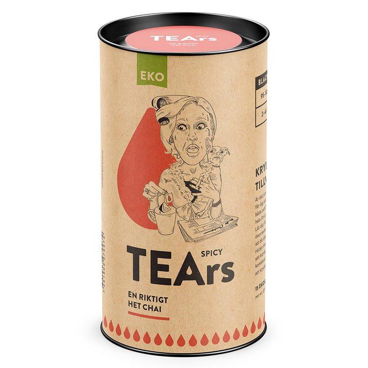 Spicy Tears – en riktigt het chai (svart te)