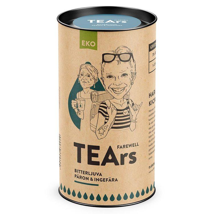 Farewell Tears – bitterljuva päron & ingefära (grönt te)