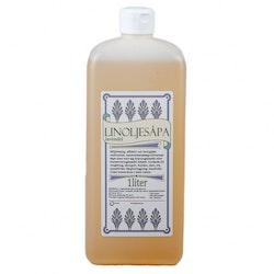 Linoljesåpa lavendel 1 liter, Grunne