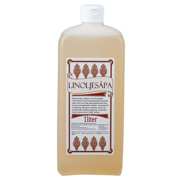 Linoljesåpa original 1 liter, Grunne