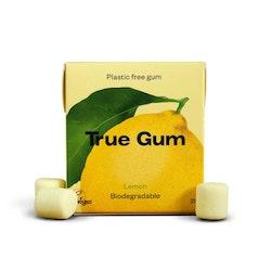 True Gum plastfritt tuggummi Citron