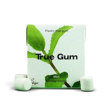 True Gum plastfritt tuggummi Mint