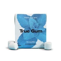 True Gum plastfritt tuggummi Stark mint