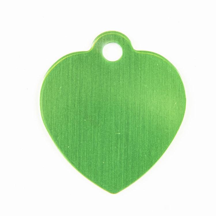 Hjärta grön