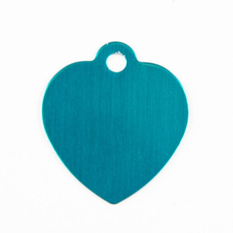 Hjärta ljusblå