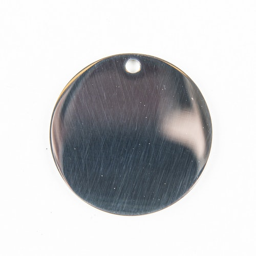 Rostfri rund polerad 25mm