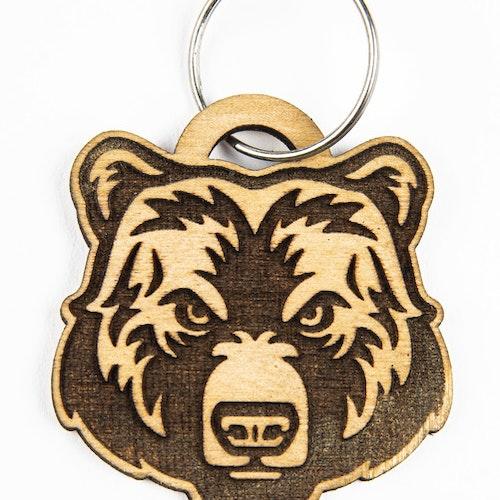 Nyckelbricka björn
