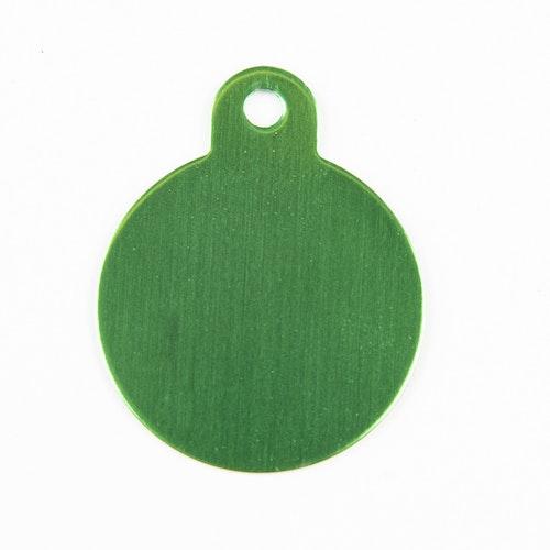 Rund grön