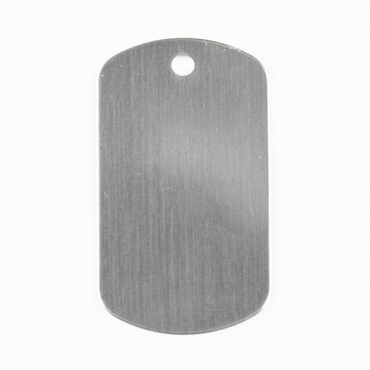 Dog tag silver