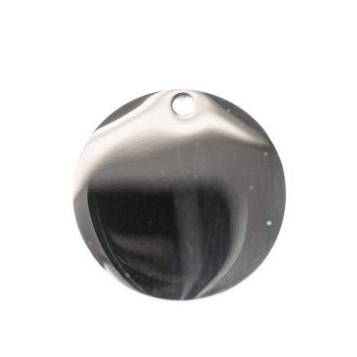 Rostfri rund polerad 30mm