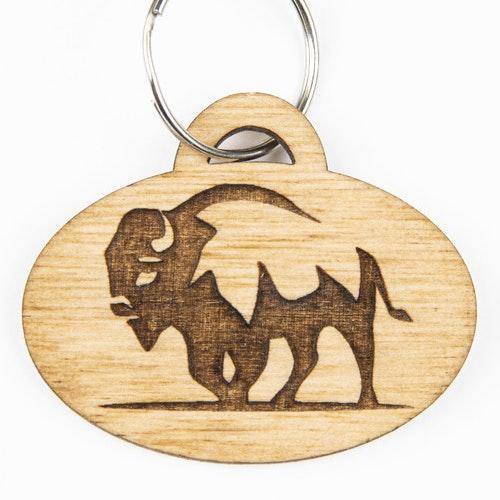Nyckelbricka buffel