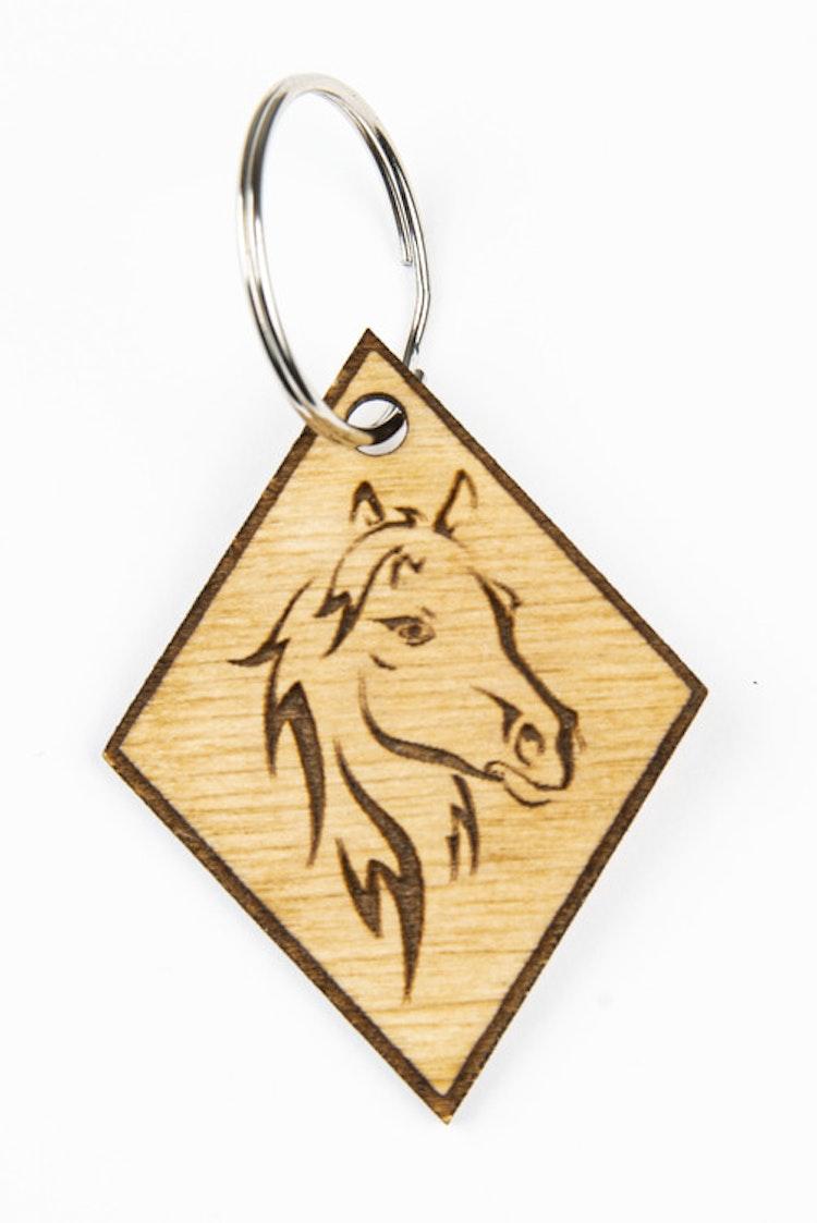 Nyckelbricka häst
